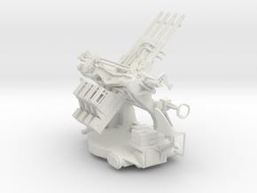 "Best Cost 1/32 1.1""/75 (28 mm) Quad Mount Elevated in White Natural Versatile Plastic"