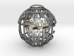 Adore Quotaball in Polished Silver