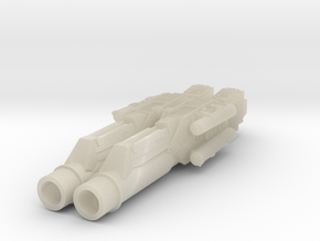 MERCUP 15mm - Apocalypse Tank Heavy Guns in White Acrylic