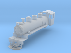 NZ120 C 1930 Locomotive Shell in Smooth Fine Detail Plastic