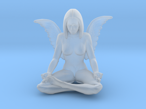 60mm Angel.STL in Frosted Ultra Detail