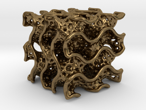 Gyroid Diamand  in Natural Bronze
