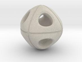 Cuboidish Necklace in Natural Sandstone