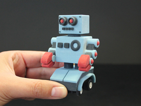 Billy Bob the home made remote control robot in Full Color Sandstone