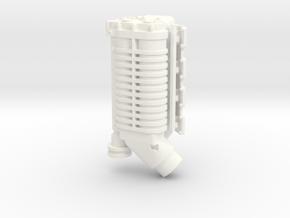Whipple Blower LS3 1/12 in White Processed Versatile Plastic