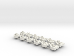 Fortified Position X12 in White Natural Versatile Plastic