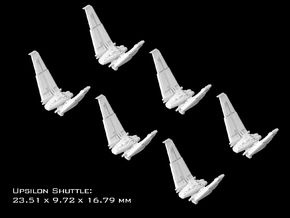 (Armada) 6x Upsilon Shuttle in Smooth Fine Detail Plastic