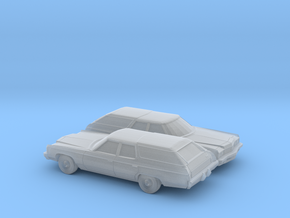 1/160 2X 1973 Chevrolet Kingswood Station Wagon in Frosted Ultra Detail