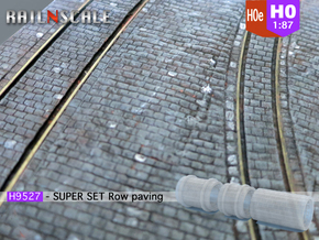 SUPER SET Row paving rollers H0 and H0e in Frosted Ultra Detail