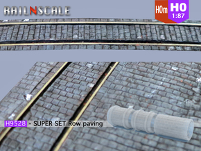 SUPER SET Row paving rollers H0 and H0m in Frosted Ultra Detail