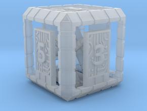Lightweight Sci-Fi Dice in Smooth Fine Detail Plastic: d6