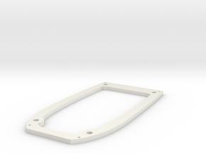 Ranger EX Wing Mount Plate in White Natural Versatile Plastic