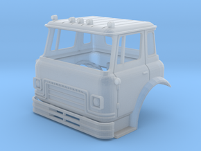 1/64 (S-scale) Cargostar Cab in Frosted Ultra Detail