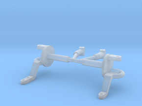 Spindles & hangers drop axle 1/8 in Smooth Fine Detail Plastic