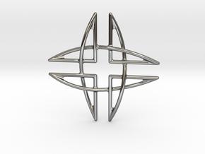 Aegis Pendant in Premium Silver