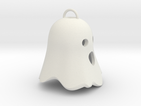 Little Ghostie pendant 3 in White Natural Versatile Plastic