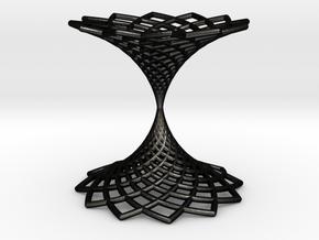 0584 Kosekomahedron [001] complete #1 (Y2-Y1) in Matte Black Steel