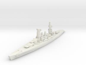 Conte di Cavour battleship 1/2400 in White Strong & Flexible