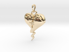 The Sprite Of Love in 14K Yellow Gold