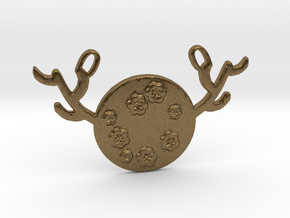 Horned Moon Spring by ~M. in Natural Bronze
