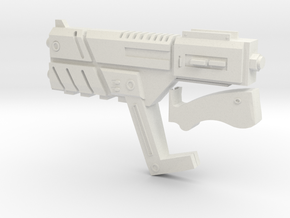 M-4 Shuriken SMG PROP/REPLICA  in White Natural Versatile Plastic