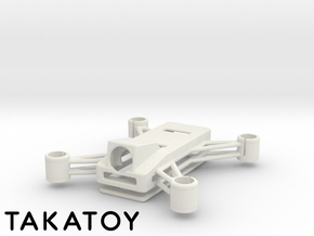 Dio3dp85-FPV in White Natural Versatile Plastic