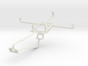 Controller mount for Xbox One Chat & Panasonic Elu in White Natural Versatile Plastic