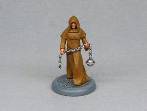 Cleric in Black Hi-Def Acrylate