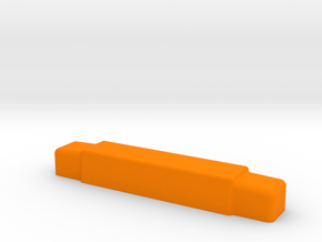 Lichtbalken in Orange Processed Versatile Plastic