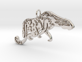 The Last Cowboy in Rhodium Plated Brass