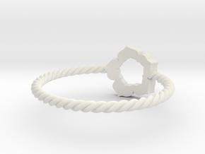 Model-41b872f2f38023cb64d540975d03589b in White Strong & Flexible
