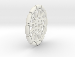 Omniwheel (Pololu Hub compatible) in White Strong & Flexible