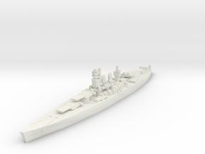 Littorio class battleship 1/1800 in White Natural Versatile Plastic