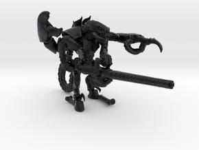 Moloch 001 Irisstralenkanone 28mm in Black Hi-Def Acrylate