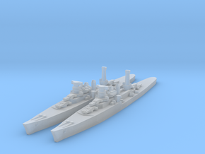 Duca degli Abruzzi class light cruiser in Frosted Ultra Detail