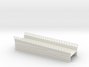 MARKET EL RAMP PT3 HO SCALE in White Natural Versatile Plastic