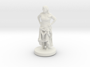 Printle C Femme 026- 1/72 in White Strong & Flexible