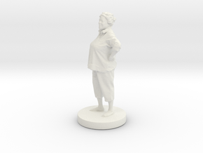Printle C Femme 027- 1/43 in White Strong & Flexible