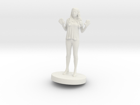 Printle C Femme 028- 1/72 in White Strong & Flexible
