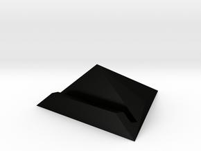 Vinyl Record Dock by Vinylmood in Matte Black Steel