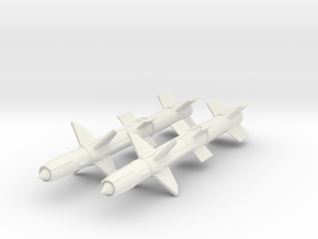 1/72 RIM-8 Talos missiles in White Strong & Flexible