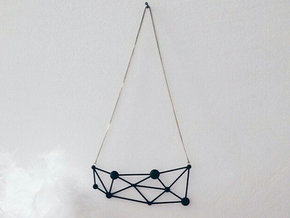 Atòmia Pendant in Black Strong & Flexible