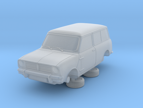 1-87 Austin Mini 74 Estate in Smooth Fine Detail Plastic
