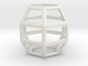 Hexah2 in White Natural Versatile Plastic