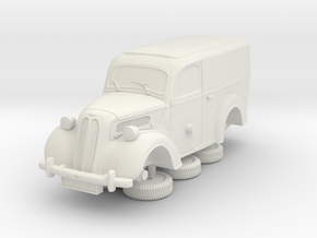 1-64 Ford Anglia E494a Van in White Natural Versatile Plastic
