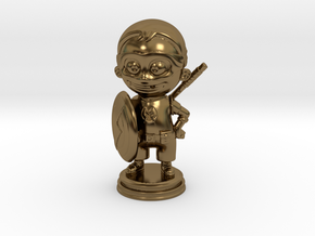 Superson in Polished Bronze