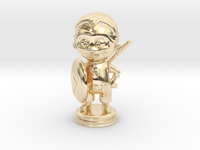 Superson in 14k Gold Plated Brass