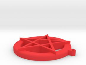 Satanxmas Med in Red Processed Versatile Plastic