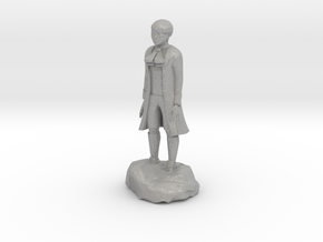 Billy, the demonic kid, in aristocrat attire. in Aluminum