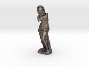 Venus De Space in Polished Bronzed Silver Steel